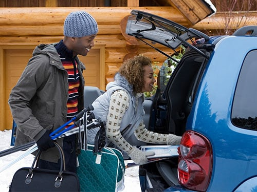 How to rent a car for your ski trip