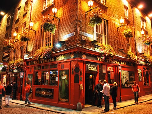 Dublin by night: A citywide pub guide