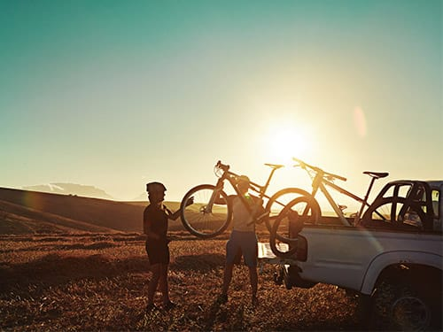 How to travel with bikes in a hire car