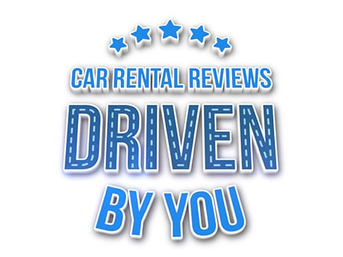 Car rental reviews: driven by you