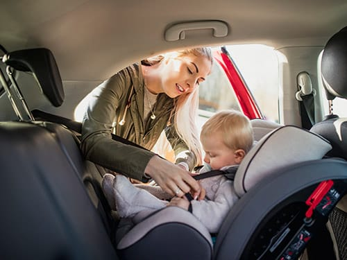 What if I need a baby or child seat for my hire car?