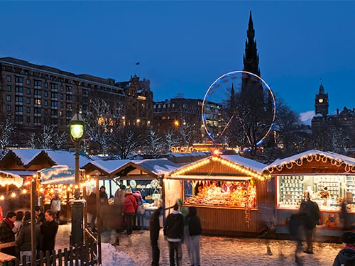 Discover Scotland at Christmas and New Year