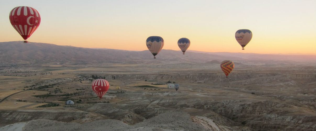 8 magical locations to watch hot air balloons taking to the skies